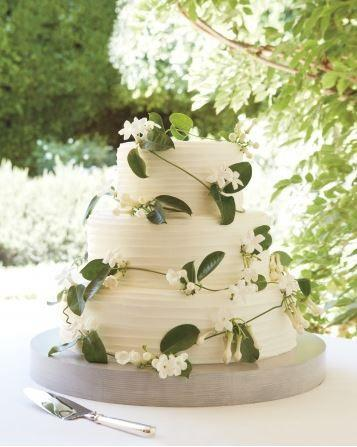 Gorgeous Garden Inspired Wedding Cake