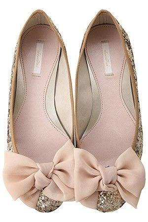 wedding shoes with bows wedding nail designs sparkle and bow flats 2033232 1139