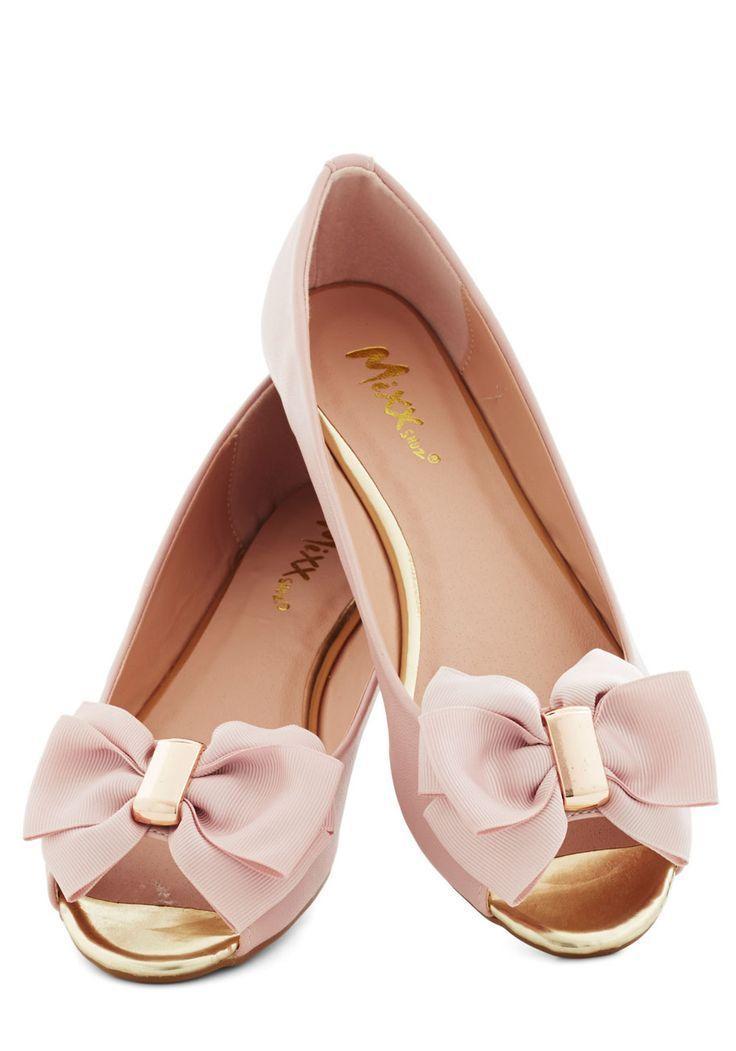 072922607926 Super Wedding Nail Designs - Pink And Gold Bow Flats  2033668 - Weddbook  UQ74
