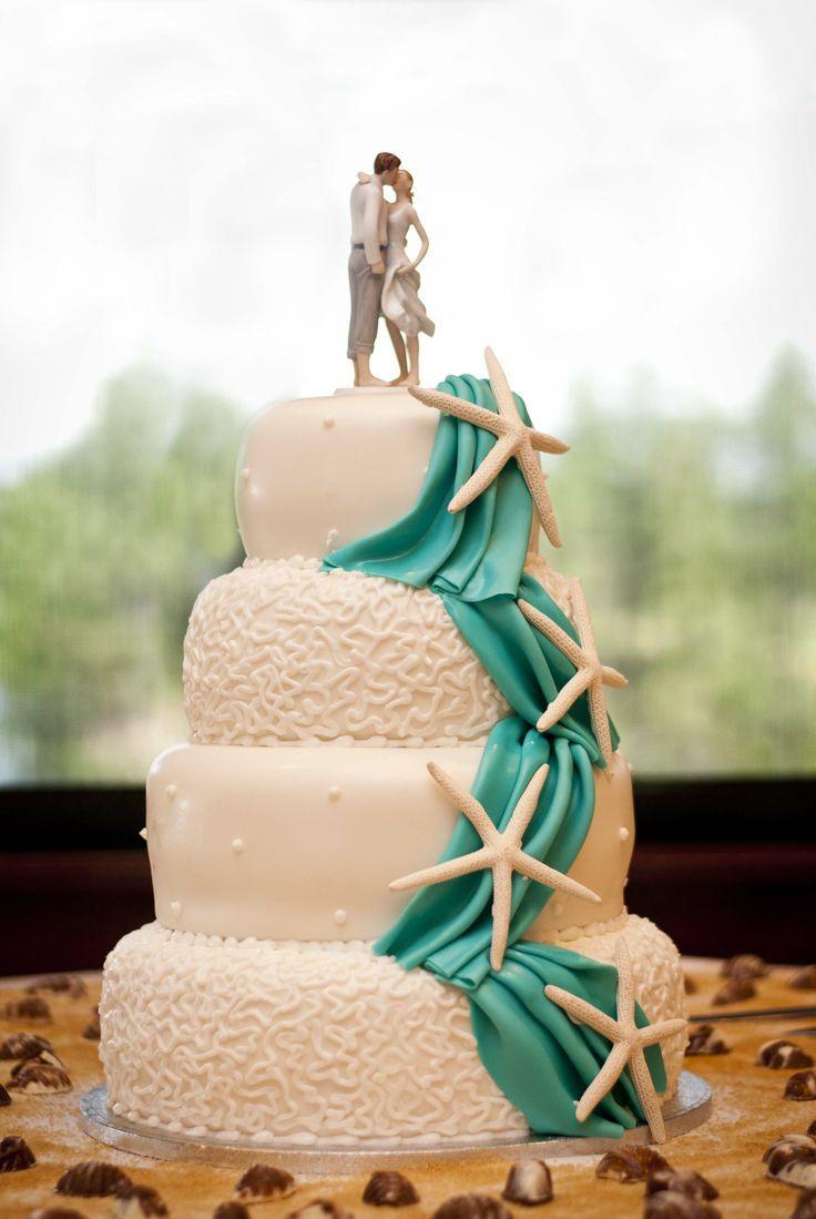 Wedding Cake For Beach