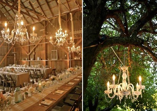 Chandelier Wedding Decor