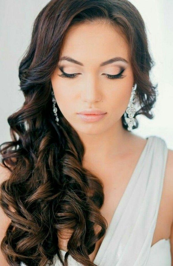 hair and makeup styles for wedding bridal makeup smokey eye brown looks 2014 kit 6243