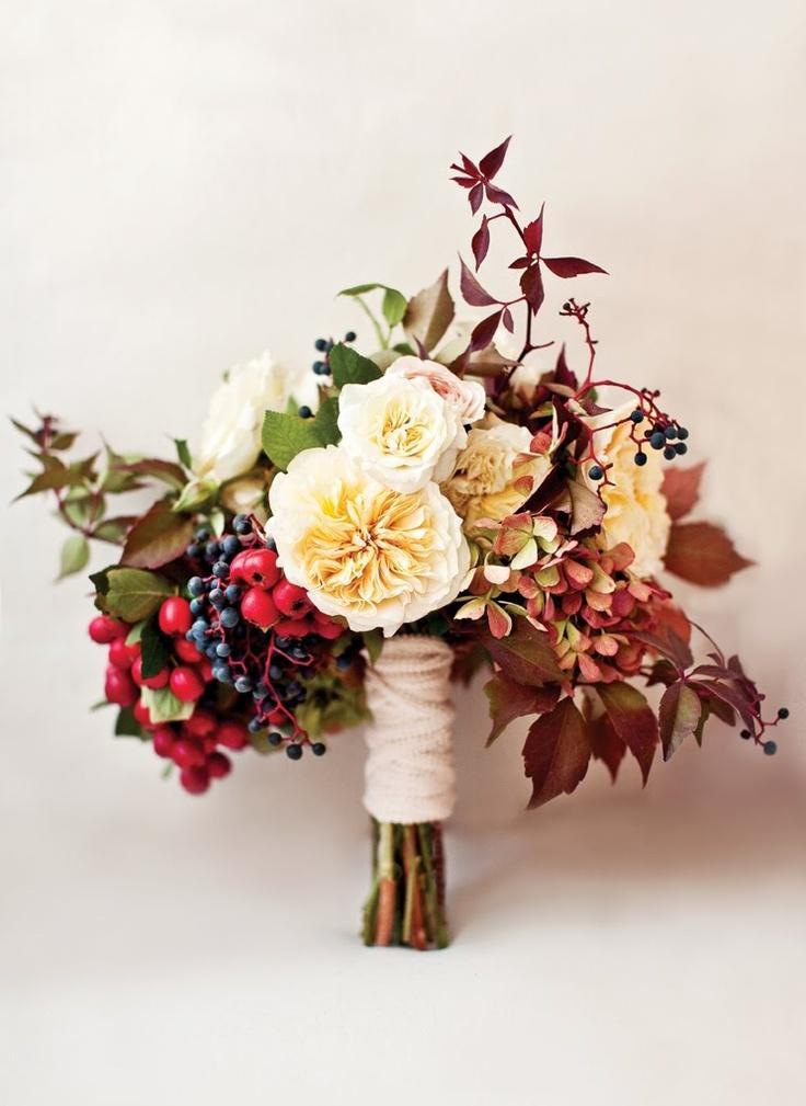 Berühmt Herbst-Hochzeit - Herbst Blumenstrauß #2053658 - Weddbook #VX_39