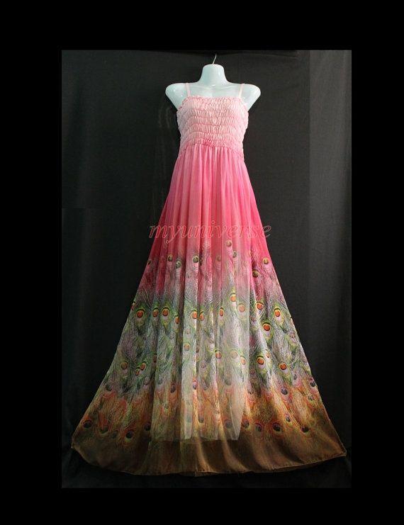 Brautjungfernkleid rosa vintage