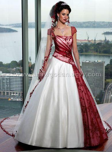 Dress Colourful Wedding Dresses 2069361 Weddbook
