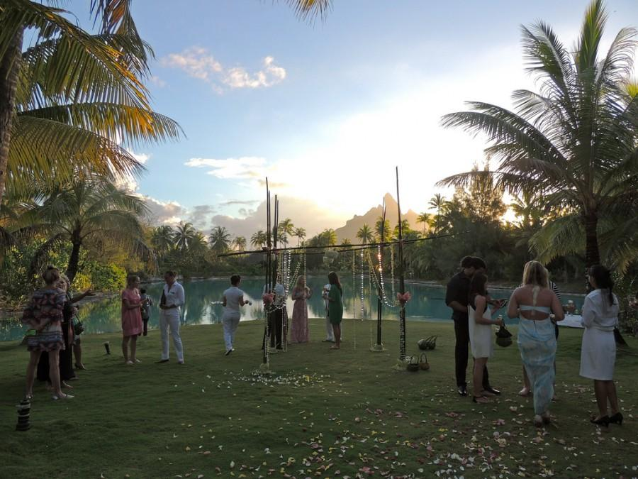 The St Regis Bora Resort Wedding At Spa Beach