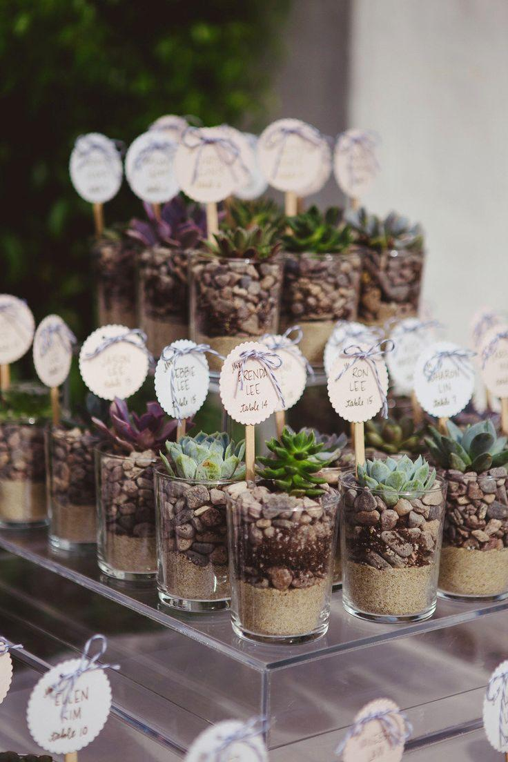 Wedding Place Card Table Ideas