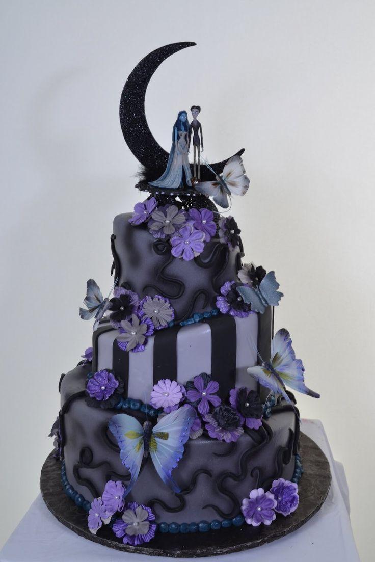 zombies/corpse bride wedding theme inspiration #2102483