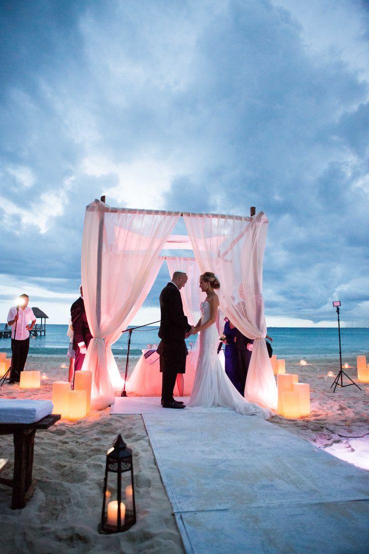 mariage sur la plage en été