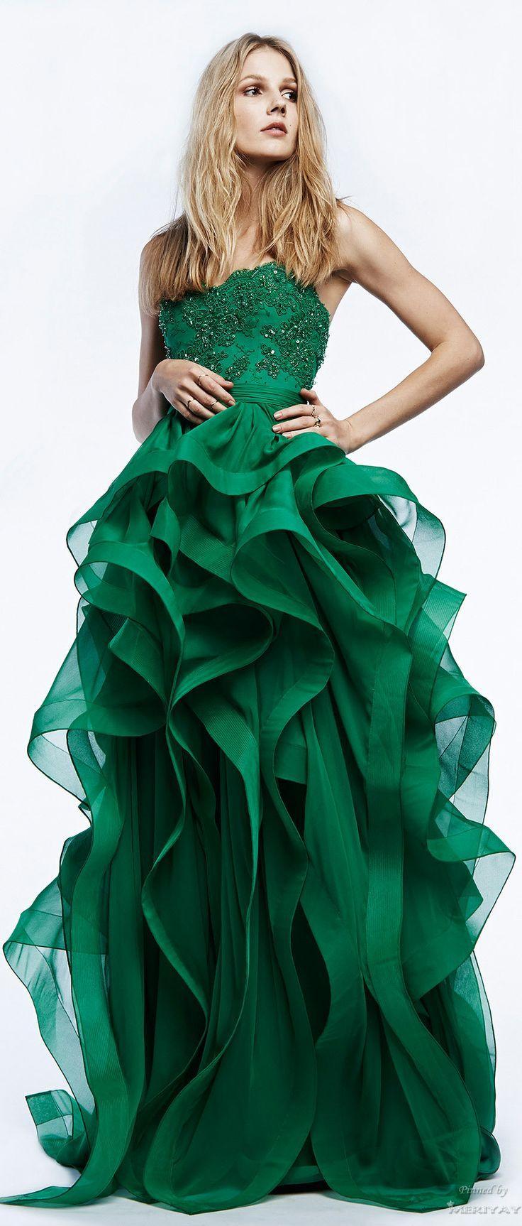Grüne Hochzeit - Wunderschöne Kleider .. Grünen #16 - Weddbook