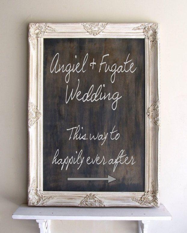 Verwonderend Tafel Registrieren Anmelden Ländliche Hochzeit Gerahmte TAFEL II-32
