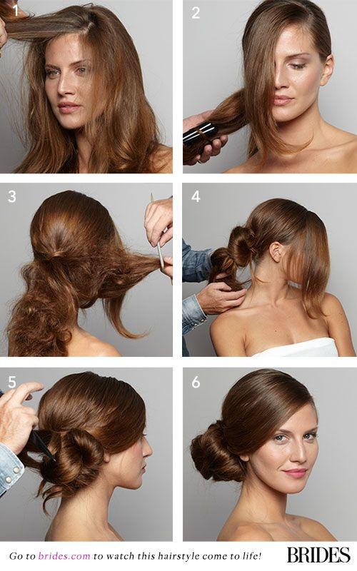 How To Make Side Bun Hairstyles | Hair