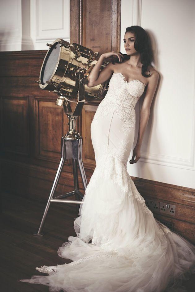 London Wedding Inspiration Featuring Inbal Dror Dresses