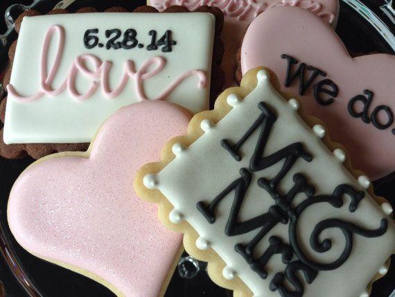 I Do Sugar Cookie Wedding Collection