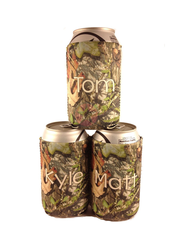 Groomsmen Gifts Personalized Can Koozies Wedding For Guys Great The Party Christmas