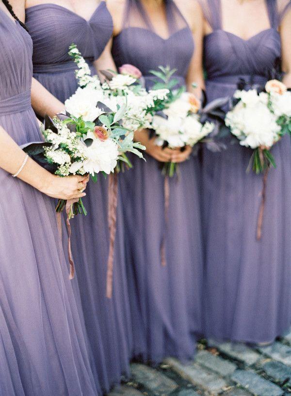Bridesmaid Plum Bridesmaids Dresses 2228524 Weddbook