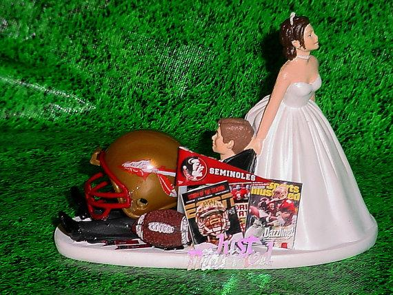florida state wedding cake toppers college football florida state seminoles 14327