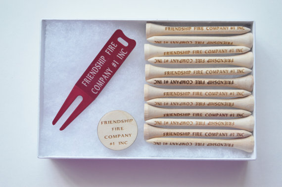 Personalized Golf Set, Golf Tees