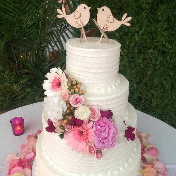wedding cakes with birds on them we do rustic wedding cake topper bird cake topper 25982