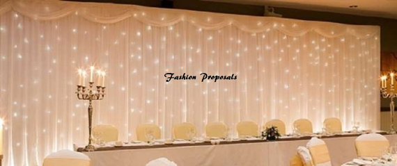 Led Backdrop Photo Both Ceremony Only Lights Fabric Not Included