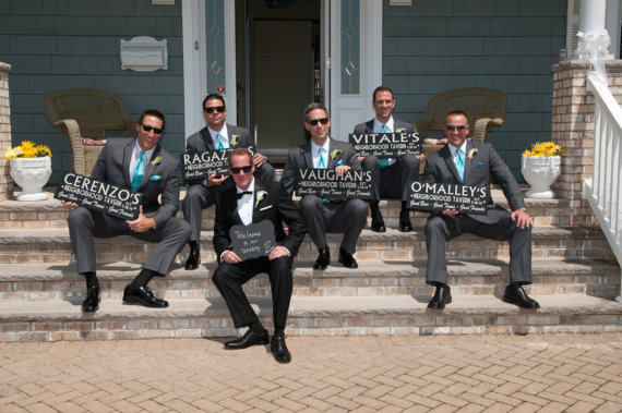 Groomsmen Gift For Groomsman Wedding Party Beer Unique Gifts Bar Sign Best Man