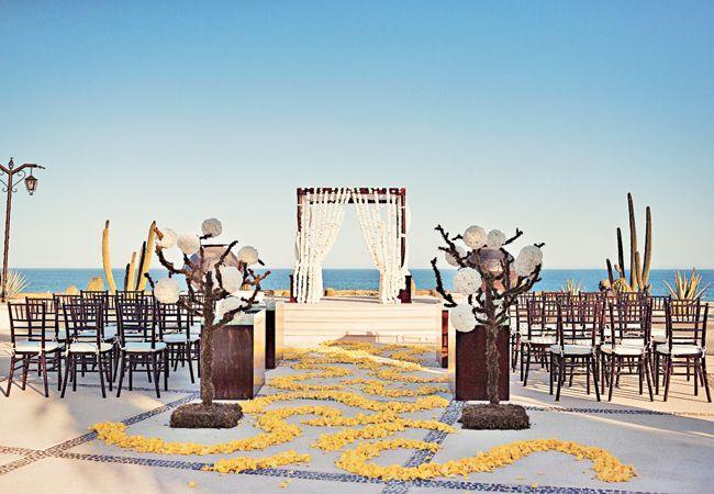 An Exotic Beach Wedding In San Jose Del Cabo Mexico
