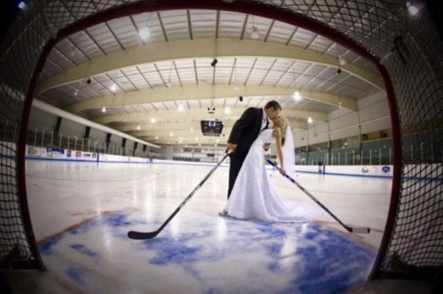 Hockey Engagement Photo Ideas