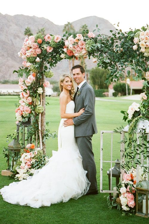 One S Fresh Fl Wedding At California La Quinta Country Club