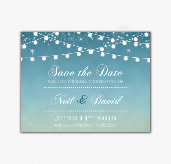 Brand new Sunset Save The Date Cards - Printed Or Printable, Wedding  JN63