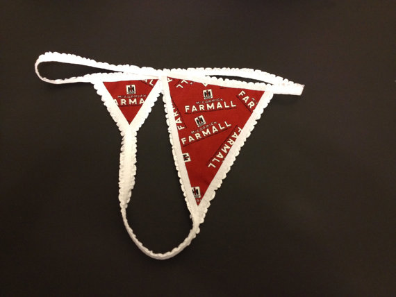 International Harvester Mccormick Farmall G String Bachelorette Party Bridal Birthday Present Wedding Gift Idea Valentine S Day