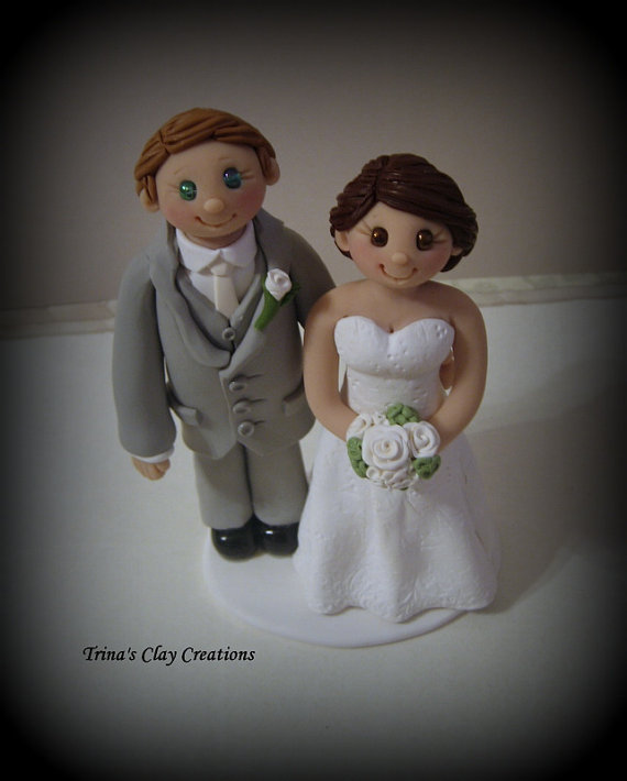wedding cake topper personalized groom and bride wedding cake topper custom cake topper and groom 26369
