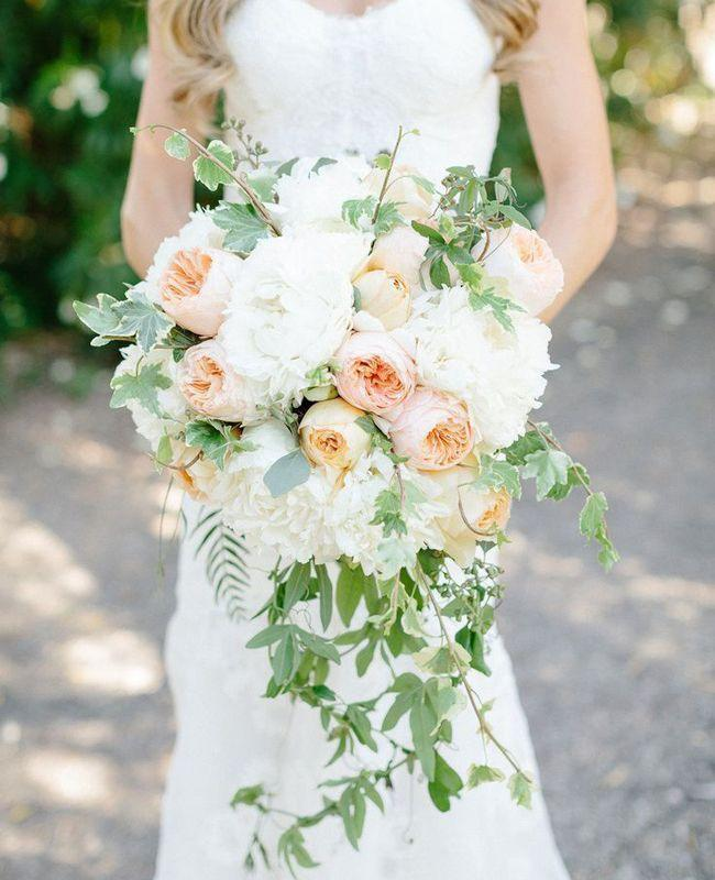 13 Modern Cascading Wedding Bouquets
