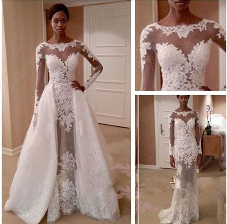 long sleeve wedding dress online | Wedding