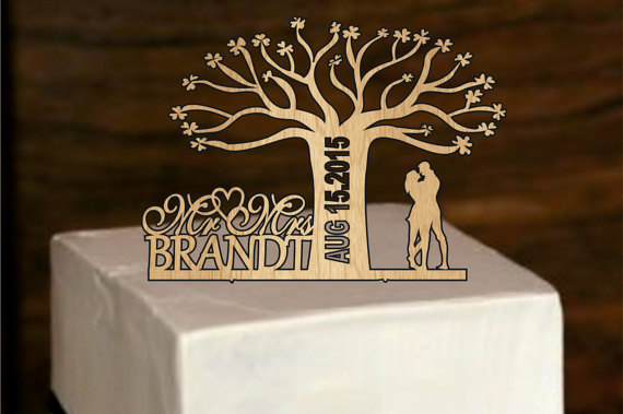 rustic fall wedding cake topper fall rustic wedding cake topper personalized 19501