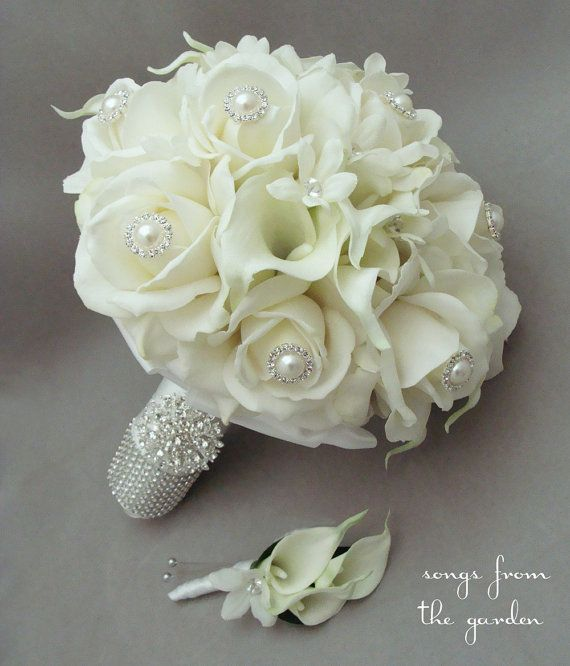 Real Flower Bridal Bouquets   New House Designs