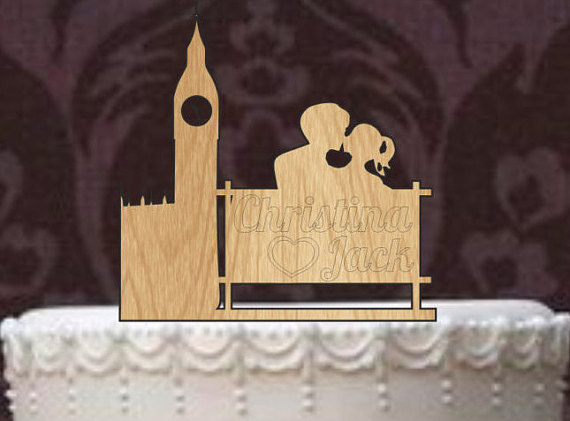bespoke wedding cake toppers london rustic wedding cake topper personalized cake topper 11278