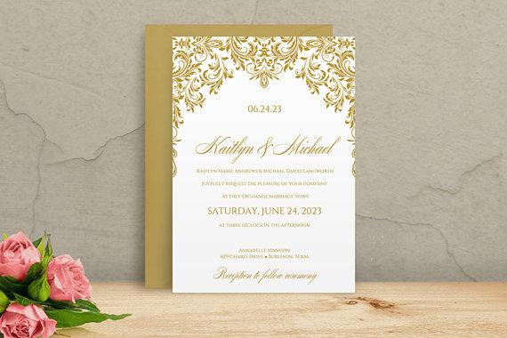 Microsoft wedding invitation templates wedding ideas printable wedding invitation template instantly stopboris Images