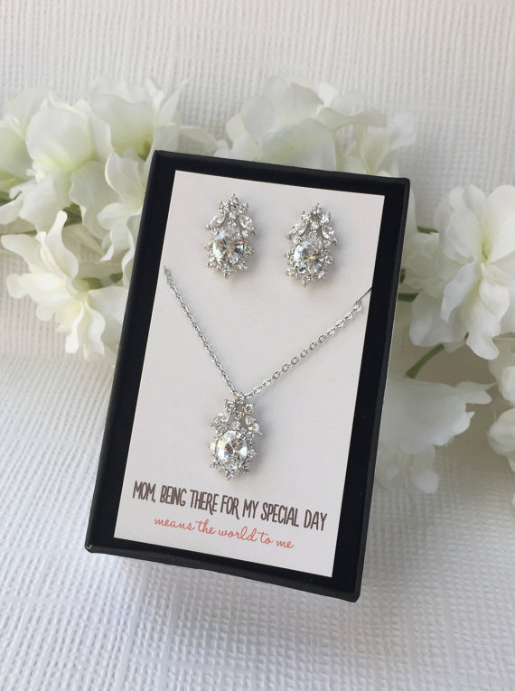 Mother Of The Bride Gift Personalized Bridal Party Gifts For Groom Jewelry Wedding Accessories N507
