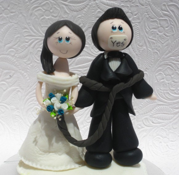 humorous wedding cake toppers bride and groom wedding cake topper cake topper topper 16204