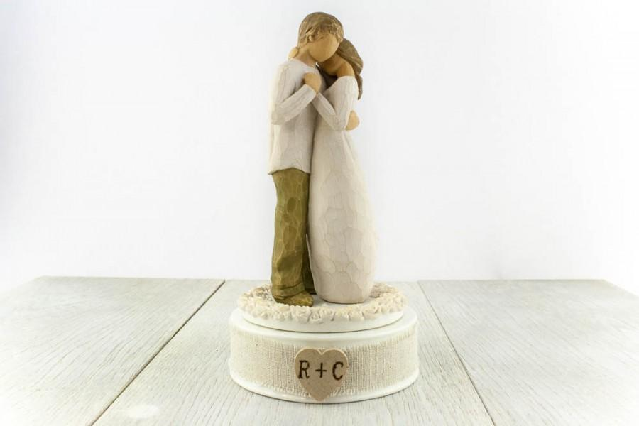 willow tree promise wedding cake topper personalized willow tree 174 quot promise quot wedding cake topper 27490
