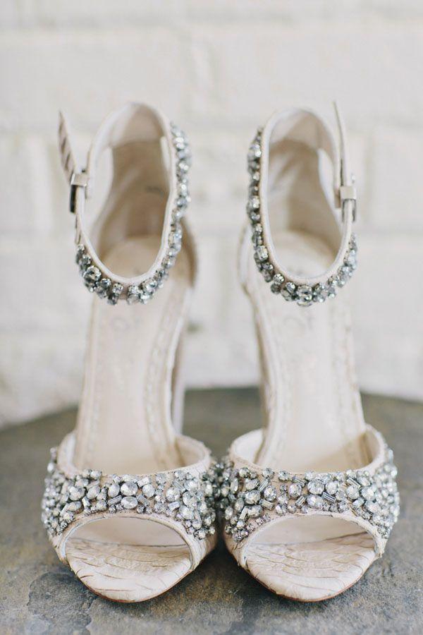 14 Most Glamorous Bridal Shoes