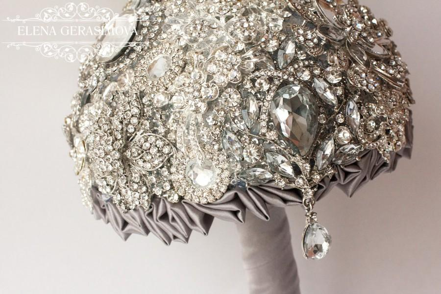 brooch wedding bouquets for sale brooch bouquet silver bouquet unique 2085
