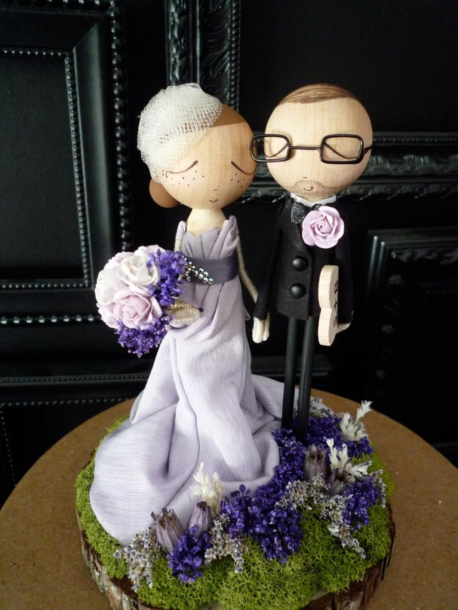customizable wedding cake toppers wedding cake topper with custom wedding dress custom 3258