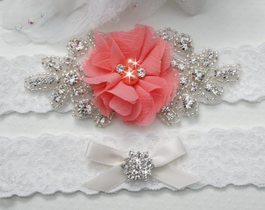 Wedding Garter Belt Bridal Set Rustic C