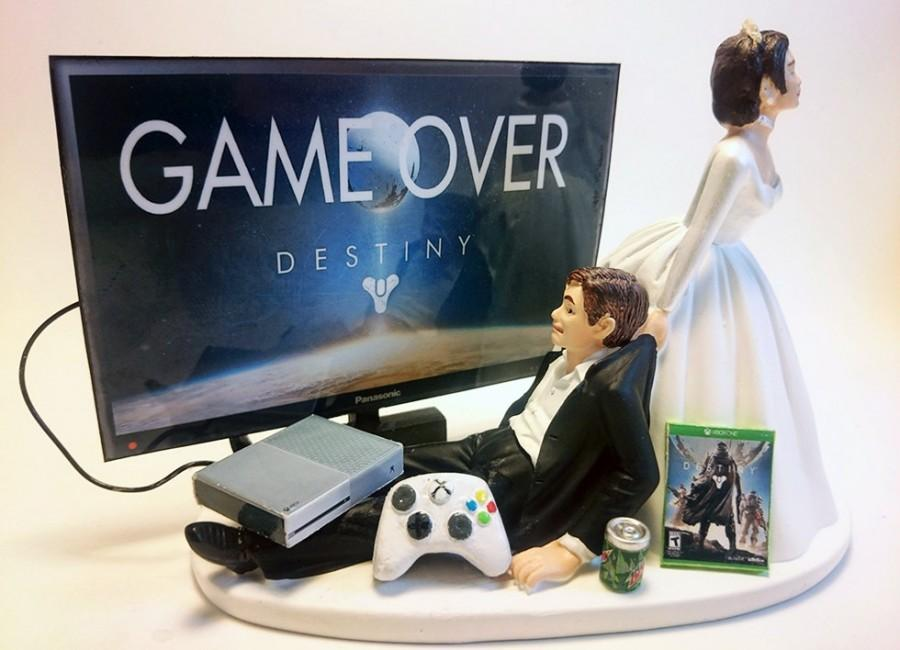 video game wedding cake toppers xbox one gamer wedding cake 21592