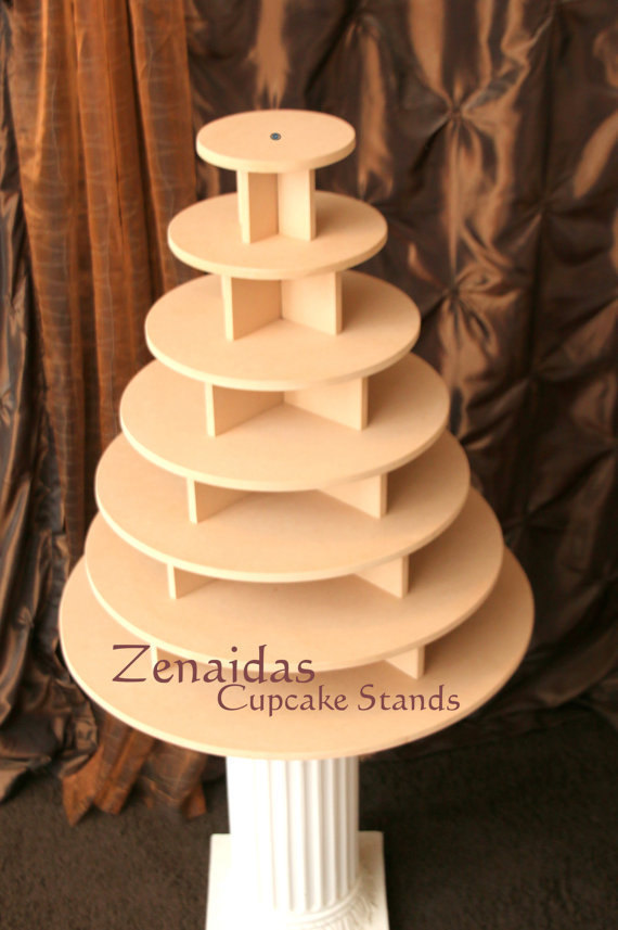 diy 3 tier wedding cake stand cupcake stand 7 tier 200 cupcakes threaded rod and 13603