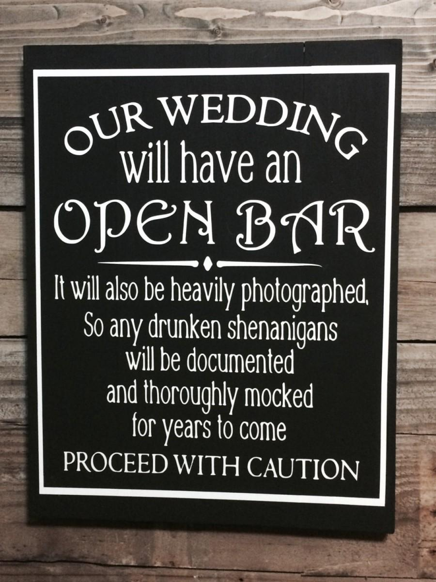 Wedding Sign Rustic Decor Reception Chalkboard Wooden Country Bride Gift