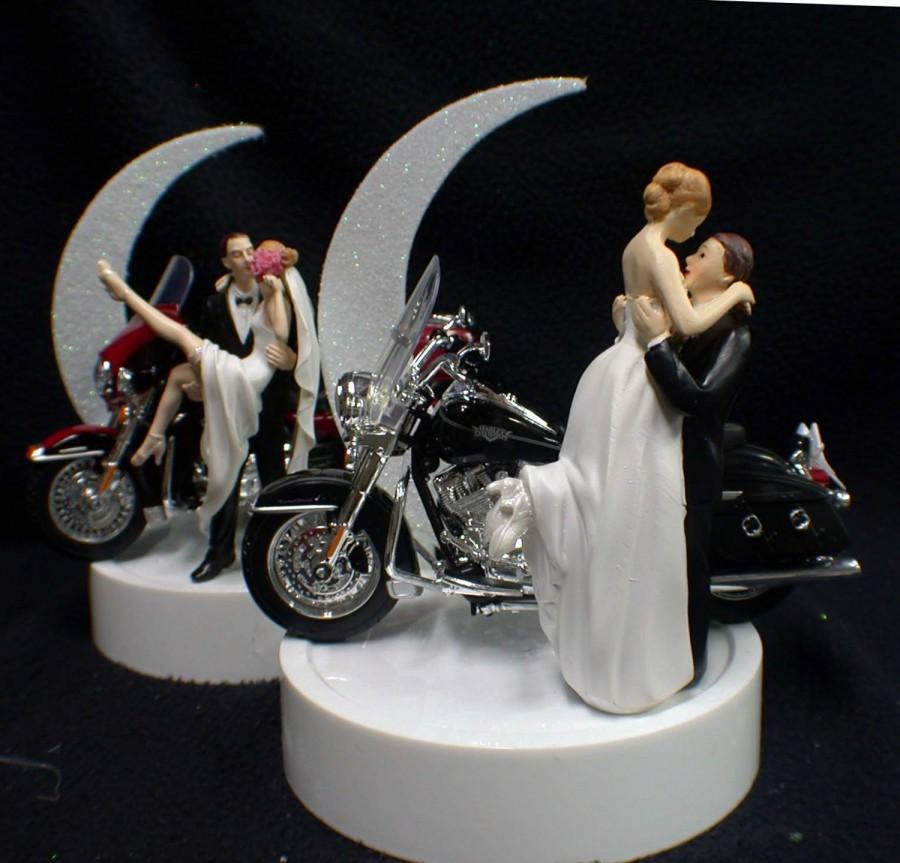 wedding cake topper harley davidson motorcycle or wedding cake topper w harley davidson 26335