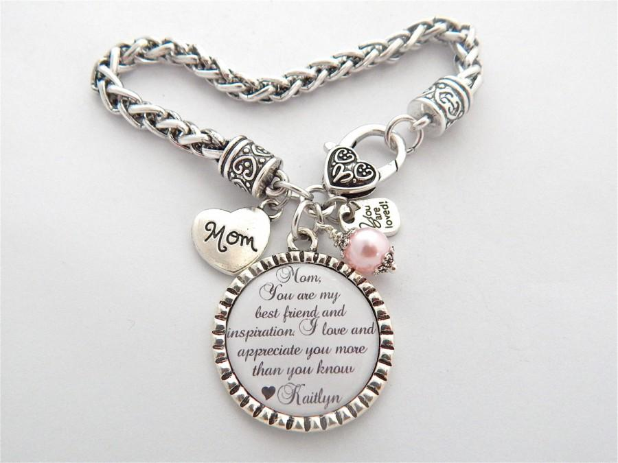 Mother Of The Bride Bracelet You Are My Best Friend And Inspiration Daughter Friendship Gift From Gifts For Mom