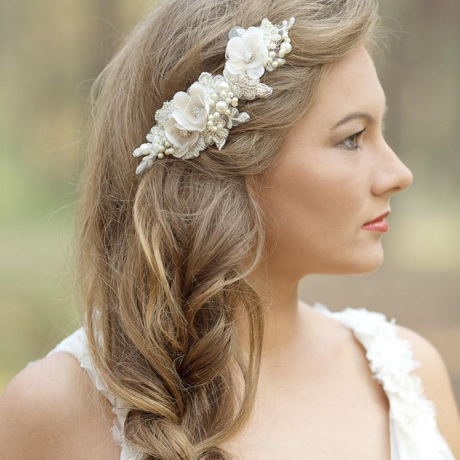 wedding hair accessories, wedding hair comb, wedding headpiece